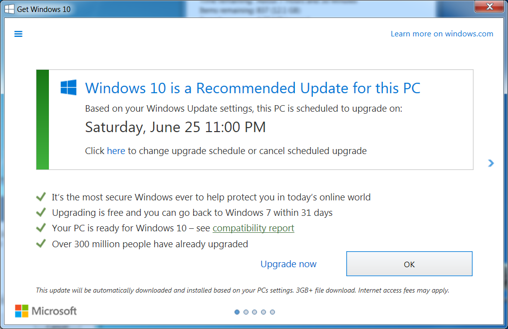 URGENT: Windows 10 trying to install – please read/share!